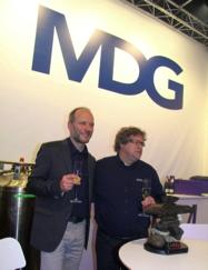 Heinz Siller and Martin Michaud